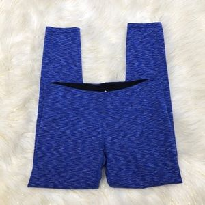 Tuff Athletics Blue Cropped Leggings M
